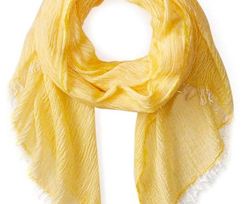 La Fiorentina Women's Italian Collection Frayed Edge Scarf Review