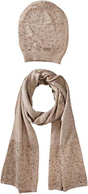 La Fiorentina Women's Matching Embellished Scarf and Hat Set Review
