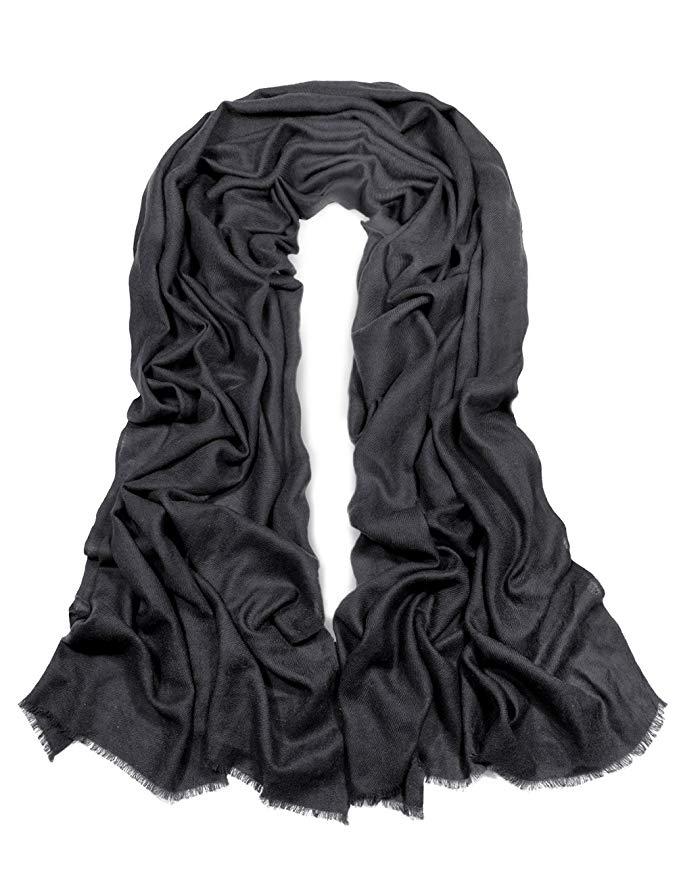 Dahlia 100% Cashmere Australian Super 80s Merino Wool Pashmina Scarf