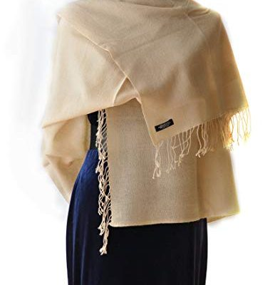 Cashmere Shawl Scarf Handmade 100% Pure Lightweight Oversized Review