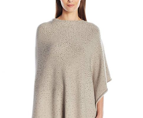 La Fiorentina Women's Poncho with Jewel Embellishments Review